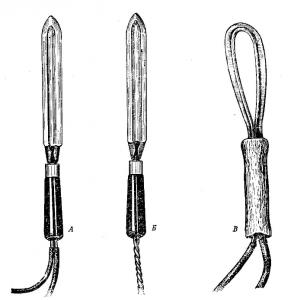 Ножи распечатывания сотов