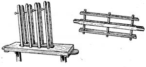 Станок для плетения матов